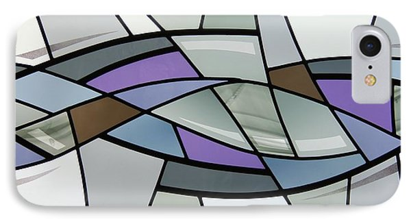 Point Grey Abstract IPhone Case by Gilroy Stained Glass