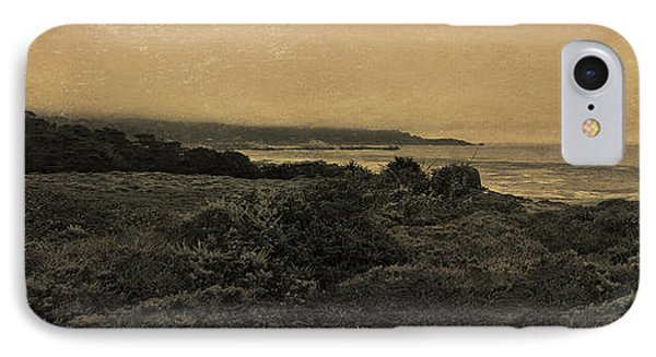 Point Lobos - An Antique Take Phone Case by Angela A Stanton