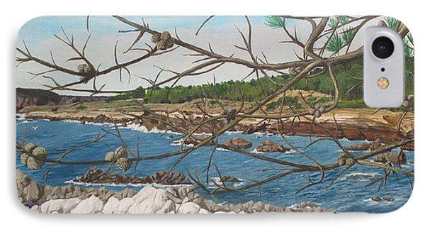 Point Lobos IPhone Case by Hilda and Jose Garrancho
