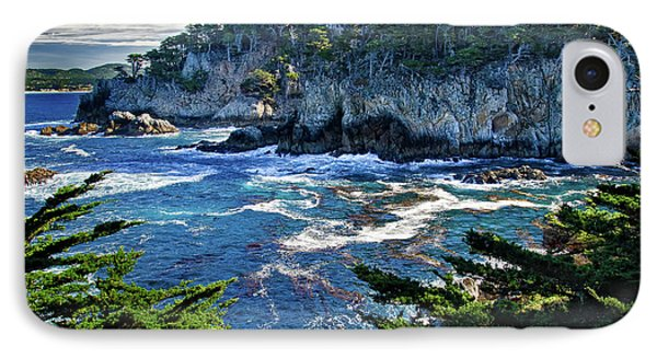 Point Lobos Phone Case by Ron White