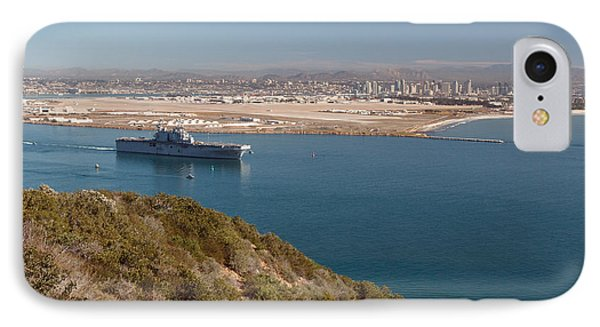 IPhone Case featuring the photograph Point Loma Looking Toward San Diego by Scott Rackers