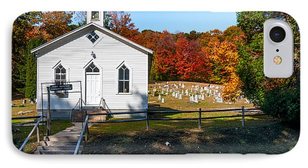 Point Mountain Community Church - Wv IPhone Case by Kathleen K Parker