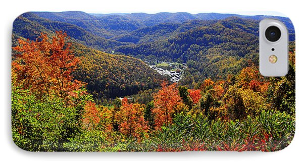 Point Mountain Overlook In Autumn IPhone Case