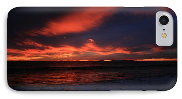 IPhone Case featuring the photograph Point Mugu 1-9-10 Just After Sunset by Ian Donley