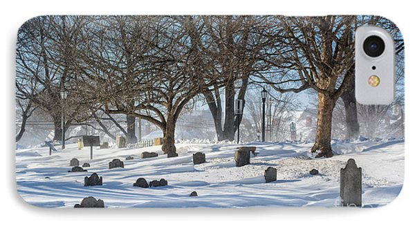 Point Of Graves Burial Grounds IPhone Case by Scott Thorp