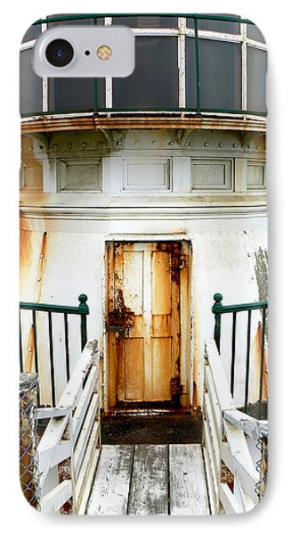 Point Reyes Historic Lighthouse IPhone Case by Laurel Powell