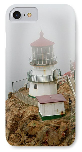 Point Reyes Lighthouse Phone Case by Art Block Collections