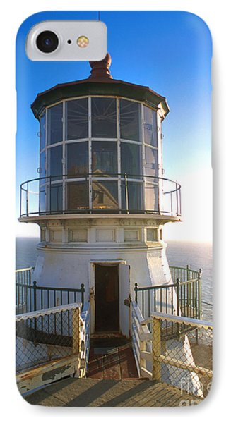 Point Reyes Lighthouse California IPhone Case by Jerry McElroy