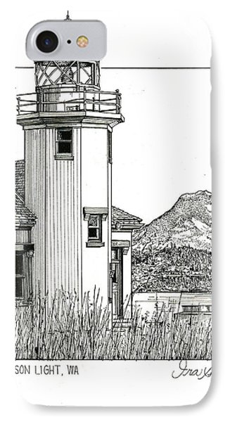 Point Robinson Light IPhone Case by Ira Shander