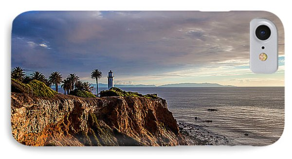 Point Vicente Lighthouse IPhone Case by April Reppucci