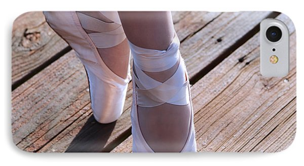 Pointe Shoes IPhone Case by Laura Fasulo