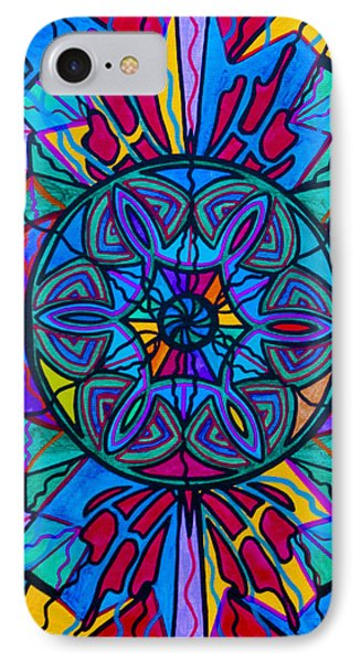 Poised Assurance Phone Case by Teal Eye  Print Store
