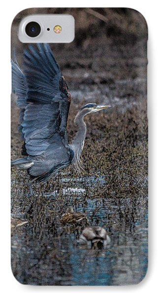 Poised For Flight IPhone Case by Charlie Duncan