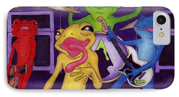 Poison-arrow Frog Band IPhone Case