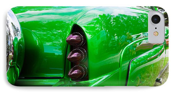 Poison Ivy Green Custom Car IPhone Case by Mick Flynn