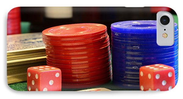 Poker Chips Phone Case by Paul Ward