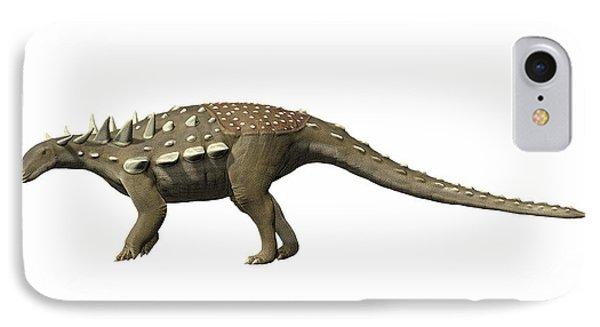 Polacanthus Foxii, Early Cretaceous Phone Case by Nobumichi Tamura