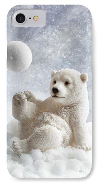 Polar Bear Decoration IPhone Case by Amanda Elwell