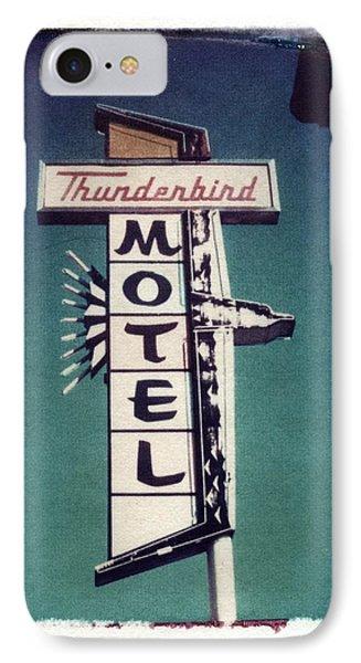 Polaroid Transfer Motel Phone Case by Jane Linders