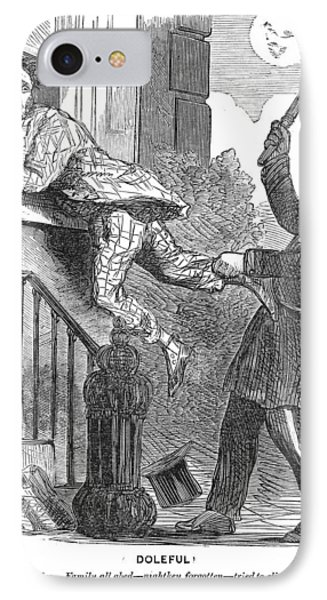 Police Cartoon, 1860 IPhone Case by Granger