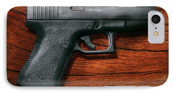 Police - Gun - The Modern Gun  Phone Case by Mike Savad