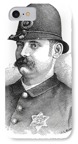 Policeman, 1887 IPhone Case by Granger