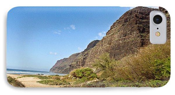Polihale Beach Phone Case by Scott Pellegrin