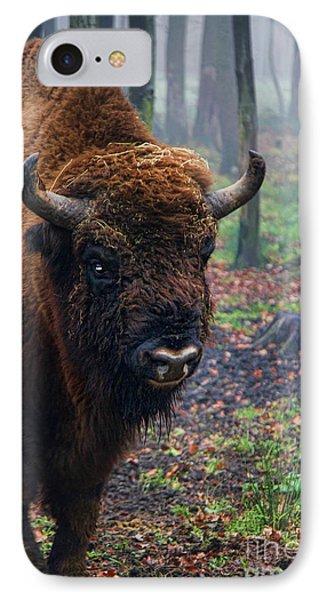 Polish Bison Phone Case by Mariola Bitner