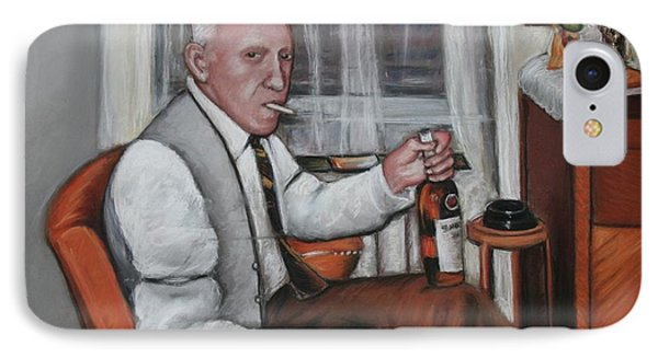 IPhone Case featuring the painting Polish Grandfather by Melinda Saminski