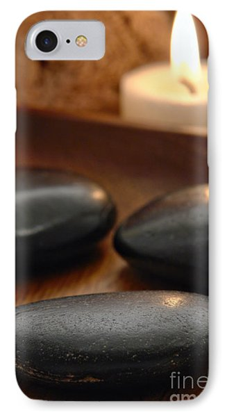 Polished Stones In A Spa IPhone Case