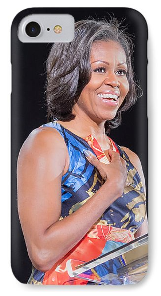 Political Ralley IPhone Case by Ava Reaves