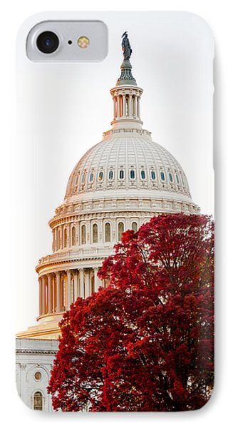 Politics Seeing Red IPhone Case by Greg Fortier