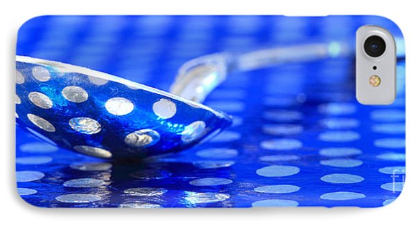 Polka Dot Spoon 2 IPhone Case by Pattie Calfy