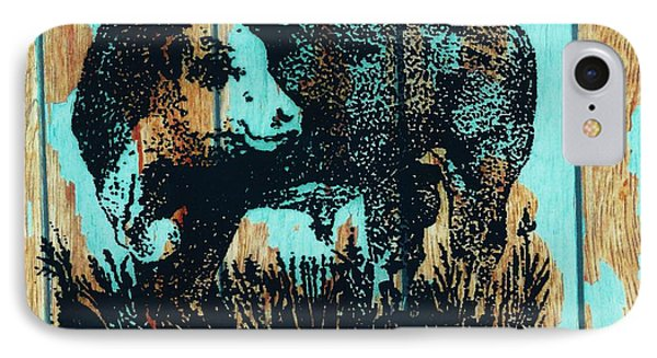 IPhone Case featuring the photograph Polled Hereford Bull 23 by Larry Campbell