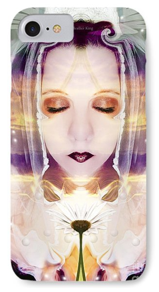 IPhone Case featuring the photograph Pollen From The Light Flower by Heather King