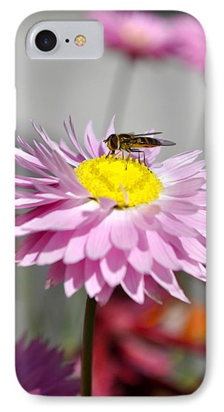 IPhone Case featuring the photograph Pollination by Cathy Mahnke
