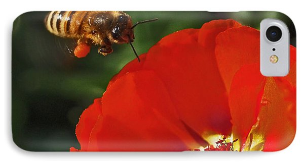 Pollination IPhone Case by Rona Black