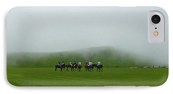 Polo In The Clouds IPhone Case by Lori Seaman