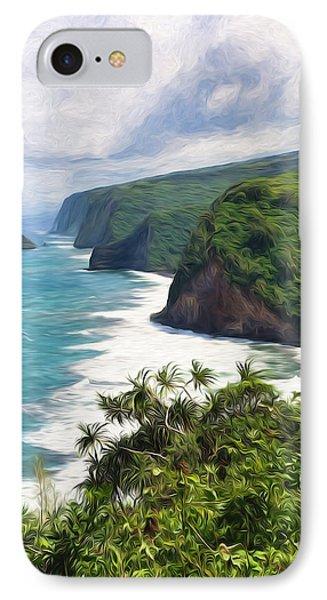 Pololu Valley Beach IPhone Case
