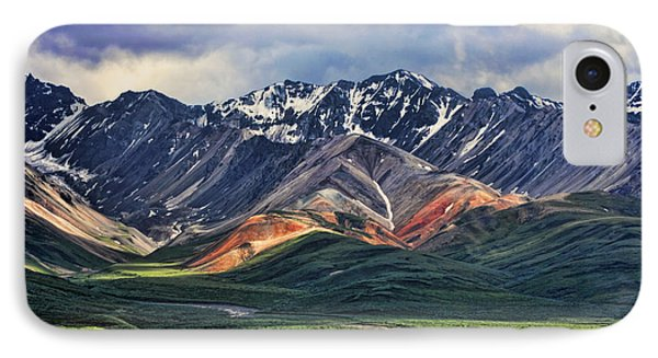 Mountain iPhone 7 Case - Polychrome by Heather Applegate