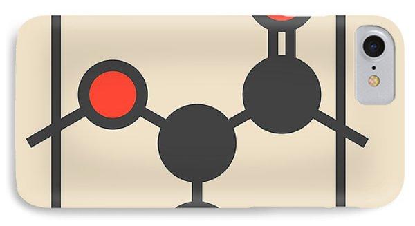 Polylactic Acid Polymer Molecule IPhone Case by Molekuul