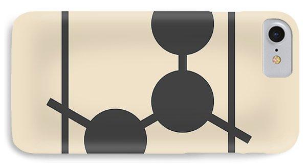 Polypropylene Plastic Polymer Molecule IPhone Case by Molekuul