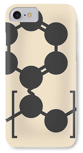 Polystyrene Plastic Polymer Molecule IPhone Case by Molekuul