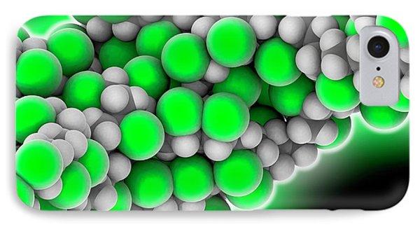 Polyvinyl Chloride Polymer Chain IPhone Case by Laguna Design