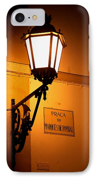 IPhone Case featuring the photograph Pombal's Light by Luis Esteves