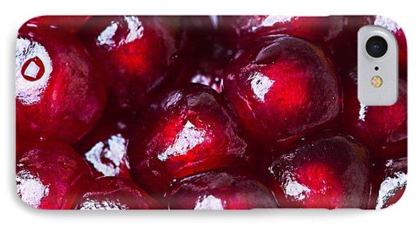 Pomegranate Closeup Phone Case by Alexander Senin