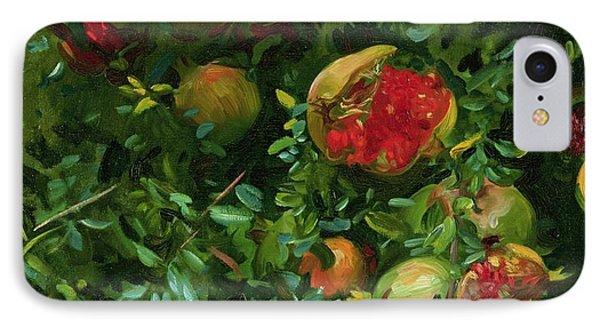 Pomegranates    Majorca Phone Case by John Singer Sargent