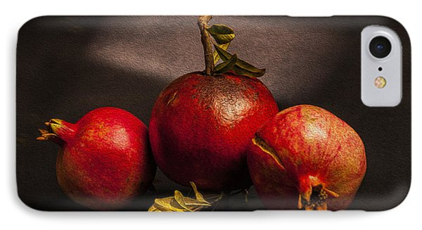 Pomegranates Phone Case by Peter Tellone