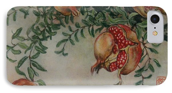 Pomegranates Phone Case by Tomoko Koyama