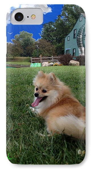 IPhone Case featuring the photograph Pomeranian by Michael Rucker